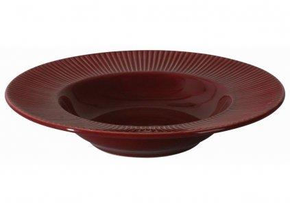 Keramický hluboký talíř Palette Cherry 24 cm AMBITION