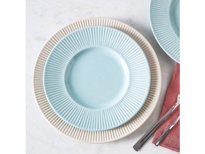 Keramický dezertní talíř Palette Light Blue 22,5 cm AMBITION
