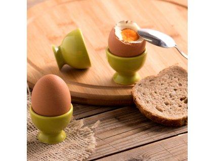 Kalíšek na vajíčko Fusion Fresh Green 5 cm AMBITION