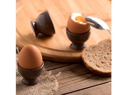 Kalíšek na vajíčko Fusion Fresh Taupe 5 cm AMBITION