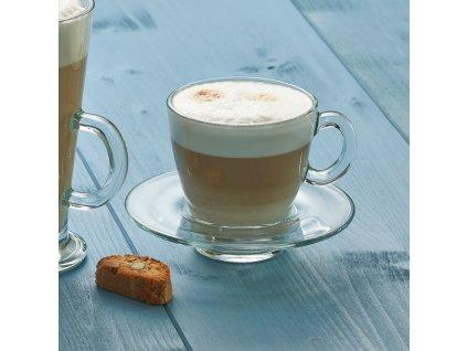 Kávový servis Aqua 12-dílů PASABAHCE