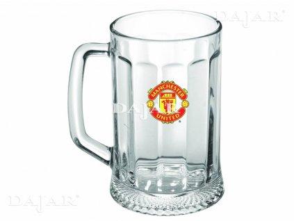 Půllitr na pivo Manchester United 500 ml