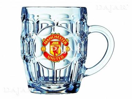 Půllitr na pivo Manchester United Britania 500 ml