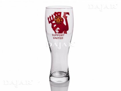 Sklenice na pivo Manchester United Support United 500 ml
