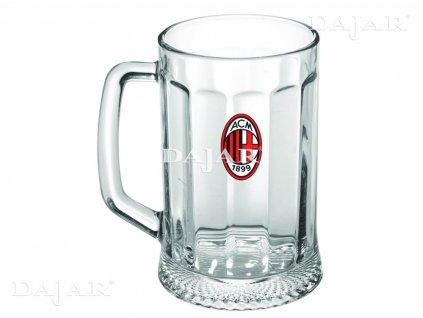 Půllitr na pivo AC Milan 500 ml