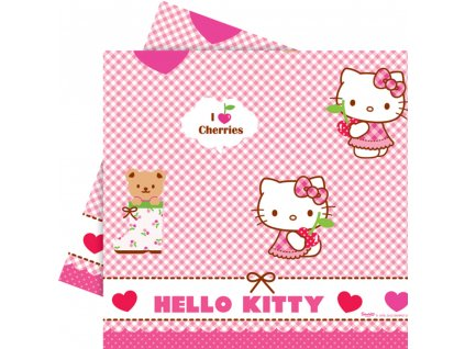 Ubrus fólie Hello Kitty Hearts 120 x 180 cm DISNEY