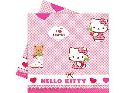 Ubrus fólie Hello Kitty Hearts 120 x 180 cm DISNEY