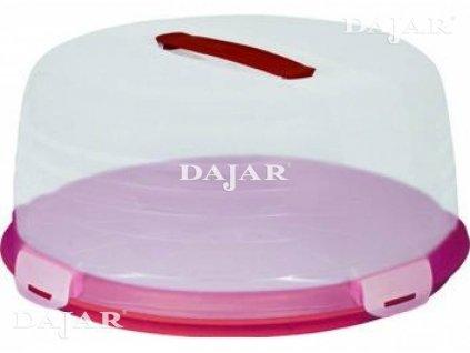 Nádobka na koláč s víkem Red 34,7 x 12,5 cm CURVER