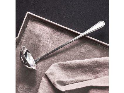 Naběračka na polévku London 29 cm / 100 ml DOMOTTI