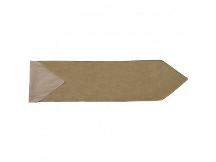 Bavlněný běhoun / štola Nature Taupe 150 x 40 cm AMBITION