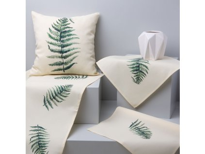 Textilní sada do jídelny Botanic Pteridium 8-dílů AMBITION
