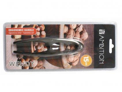 Louskáček na ořechy černý chróm Wendy AMBITION