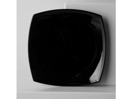 Mělký talíř Quadrato Black 26,5 x 26,5 cm LUMINARC