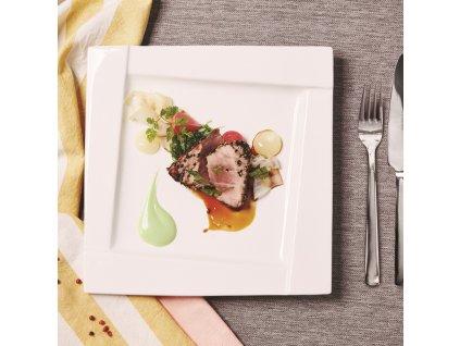 Mělký talíř Kubiko 25 x 25 cm AMBITION