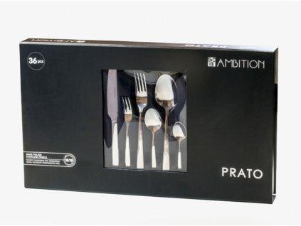 Sada příborů Prato Giftbox 36-dílů AMBITION