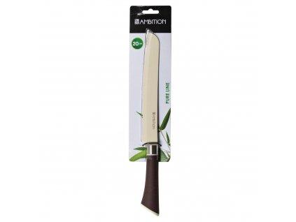 Nůž na pečivo Pure Line 20 cm AMBITION