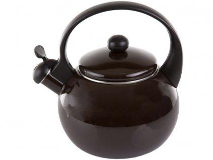Smaltovaný čajník Merve Brown 2,2 l AMBITION