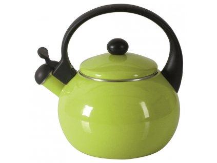 Smaltovaný čajník Merve Green 2,2 l AMBITION