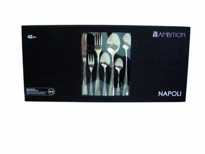 Sada příborů Napoli Gift Box 42-dílů AMBITION