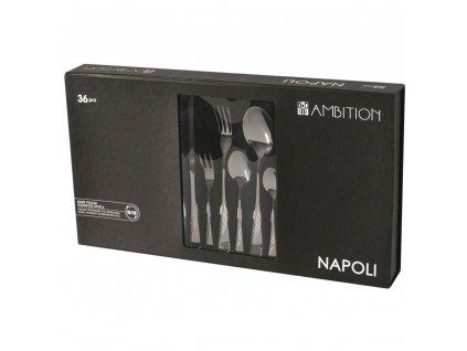 Sada příborů Napoli Gift Box 36-dílů AMBITION