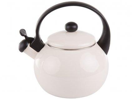 Smaltovaná čajová varná konvice Cerve Krémová 2,2 l AMBITION