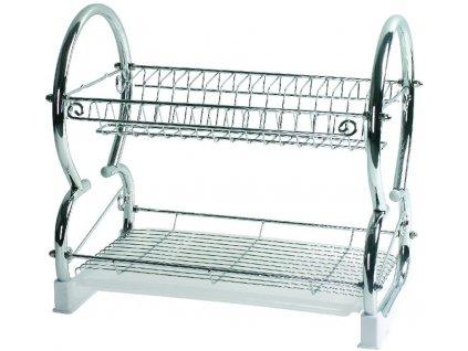 Odkapávač na nádobí Lawenda 43,5 x 26 x 34,6 cm DOMOTTI