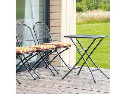 Kovový zahradní stůl Onyx 60 x 60 cm PATIO