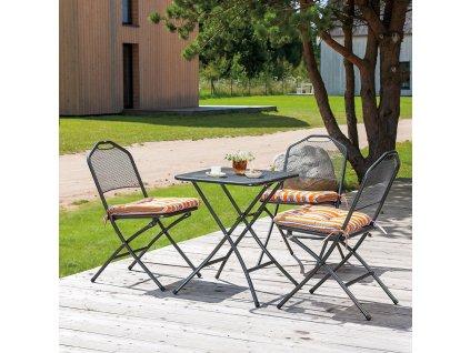 Kovový zahradní stůl Onyx 64 x 60 cm PATIO
