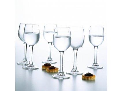 Sada 6 skleniček na likér / vodku Versailles 50 ml LUMINARC