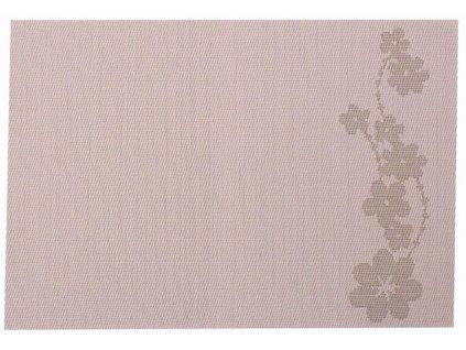 Podložka na stůl PVC / PS Dream Flower Stick Lilac 30 x 45 cm AMBITION