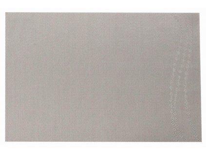 Podložka na stůl PVC / PS Dream Flower Wave Silver 30 x 45 cm AMBITION