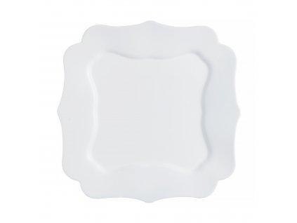 Dezertní talíř Authentic White 20,5 x 20,5 cm LUMINARC