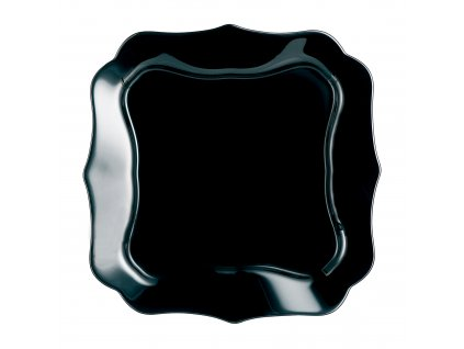 Mělký talíř Authentic Black 25,5 x 25,5 cm LUMINARC
