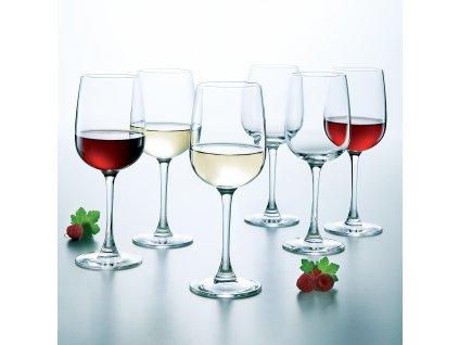 Sada 6 sklenic na víno Versailles 360 ml LUMINARC