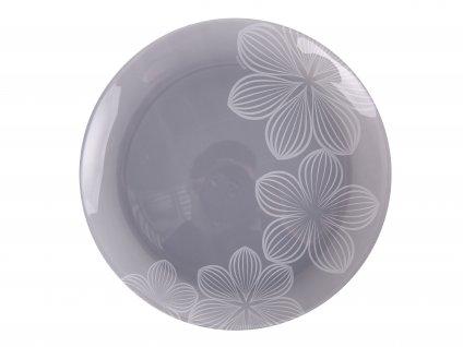 Dezertní talíř Dream Flower Gray 20,5 cm AMBITION