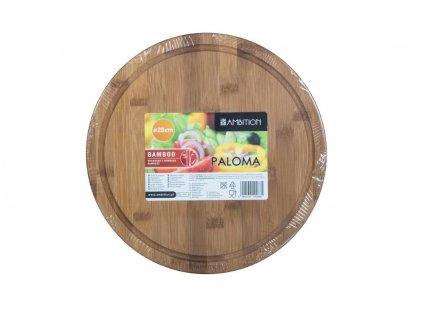 Bambusové prkénko na krájení Paloma 28 x 1,5 cm AMBITION