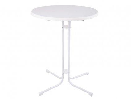 Vysoký zahradní stůl Dine & Relax White 85 cm PATIO