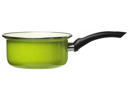 Smaltovaný rendlík Vigo Green 16 cm DOMOTTI