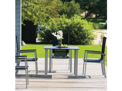 Zahradní hliníkový stůl Toscana 80 x 150 cm PATIO
