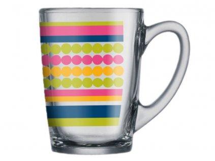 Hrnek New Morning Playful Stripes 320 ml LUMINARC