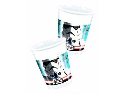 Sada 8 plastových kelímků Star Wars 200 ml DISNEY