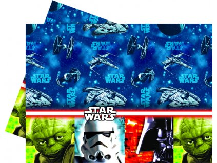 Ubrus fólie Star Wars 120 x 180 cm MIX BAREV DISNEY