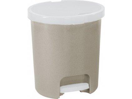 Odpadkový koš s pedálem Lux Beige 25 l CURVER