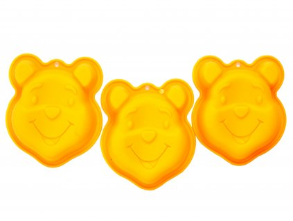 Set 3 silikonových forem Medvídek Pú DISNEY