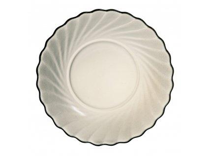 Hluboký talíř z kouřového skla Ocean 20 cm LUMINARC