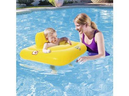 Nafukovací křeslo na plavání se zabezpečením Swim Safe 69 x 69 cm BESTWAY