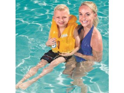 Nafukovací plavecká vesta Swim Safe 51 x 46 cm BESTWAY