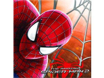 Sada 20 ubrousků Amazing Spiderman II. 33 x 33 cm DISNEY