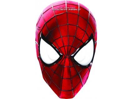 Sada 6 párty masek Amazing Spiderman II. DISNEY