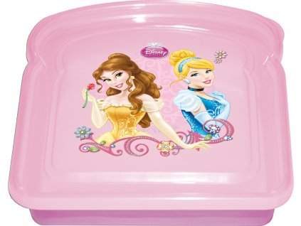 Svačinový box Disney´´´´s Princess 14 x 14 cm DISNEY